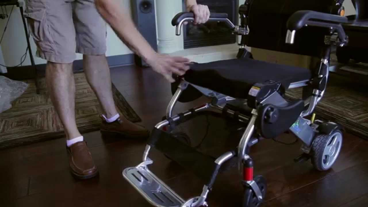 how powered wheelchair works - kd smart chair - youtube
