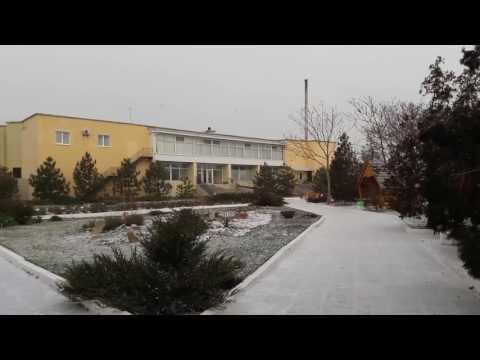 Санаторий Арктикав Бердянске, декабрь 2016, средняя коса