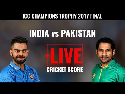 LIVE: INDIA Vs PAKISTAN Live Scores & Commentary | ICC Champions Trophy 2017 I Finale match