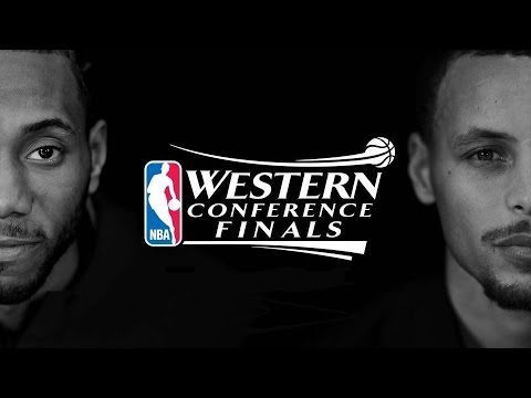 2017 NBA Playoffs WCF Warriors vs Spurs Game 2 NBA on ESPN Intro