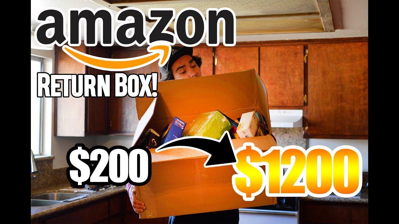 fbbbd88af8c9b Opening an Amazon Return Box Worth $1200! To Resell On eBay (I ...