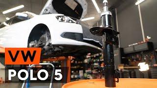 Så byter du ett fjäderben fram på VW POLO 5 Sedan [AUTODOC-LEKTION]