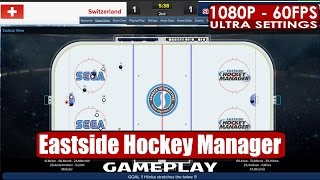Eastside Hockey Manager gameplay PC HD [1080p/60fps]