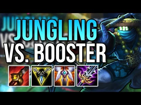 JUNGLING AGAINST A BOOSTER | Jax Jungle Full Game Commentary