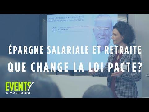 Epargne salariale, Retraite et Assurance-vie : que change la loi Pacte ?