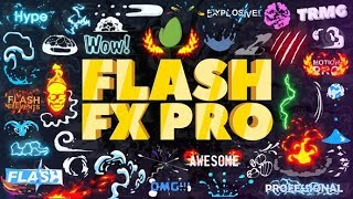 Скачать After Effects Template Flash FX Pro Animation Constructor