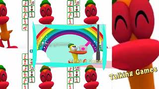 Learn Colors with Talking Pato VS Pocoyo Videos# games 2018 Talking ДЛЯ ДЕТЕЙ