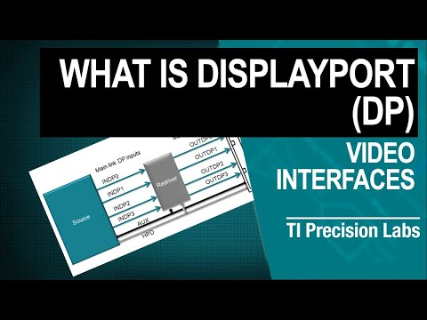 TI Precision Labs - Video Interface: What Is DisplayPort (DP)?