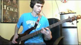 """""""Taste the Pain"""" -- Red Hot Chili Peppers bass cover"""