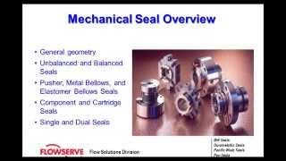 Mechanical Seal Fundamentals Mp3