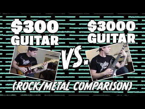Download Youtube: $300 VS $3000 Guitar (Rock/Metal Comparison)