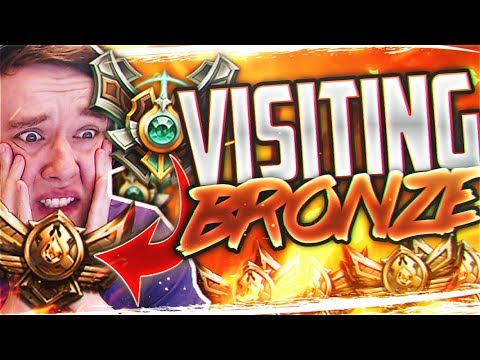 REDMERCY VISITS BRONZE ELO ARE THE MYTHS TRUE?? - Master Playing In Bronze - League of Legends
