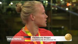 Interview im ZDF bei den Paralympics in Rio mit Christiane Reppe