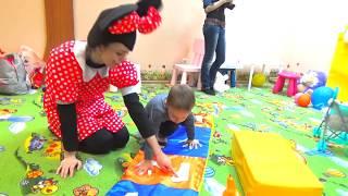 Веселые конкурсы Аква грим Шоу мыльных пузырей Видео для ДЕТЕЙ