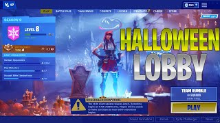 How To Get The HALLOWEEN BACKGROUND In Season 9 Using This FORTNITE GLITCH