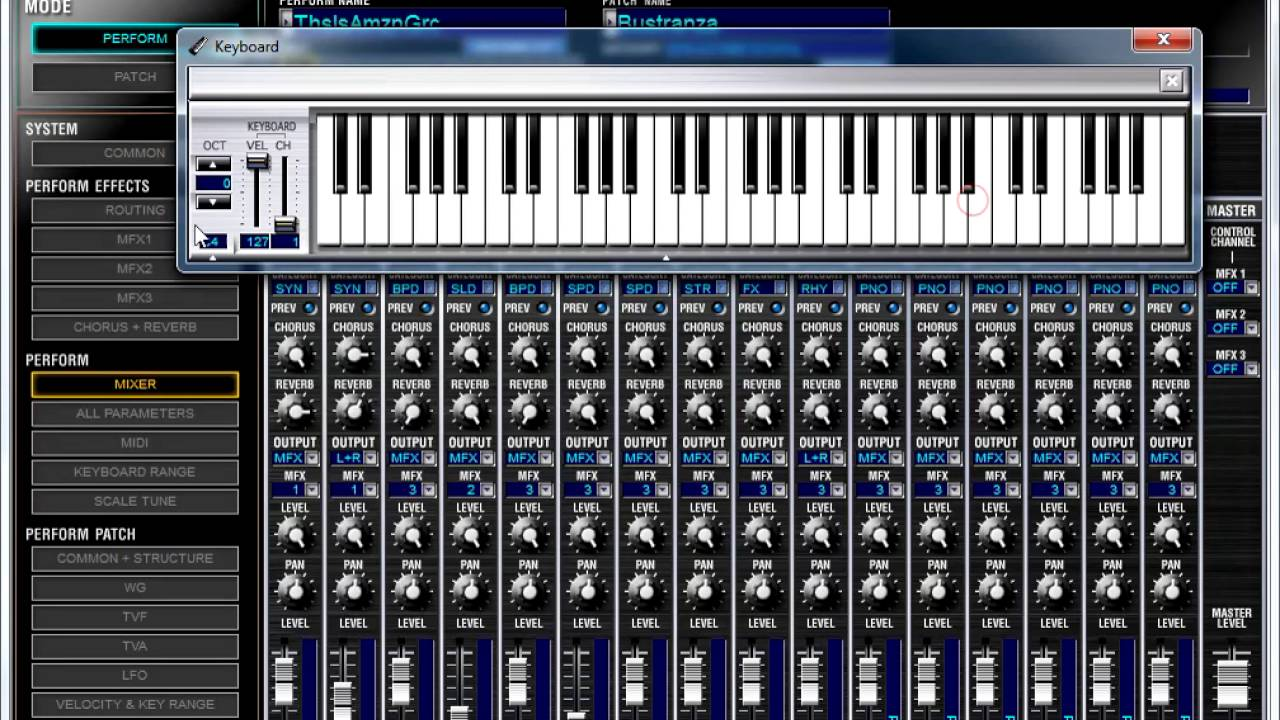 Roland Juno-di Editor Software Tutorial 1: Introduction