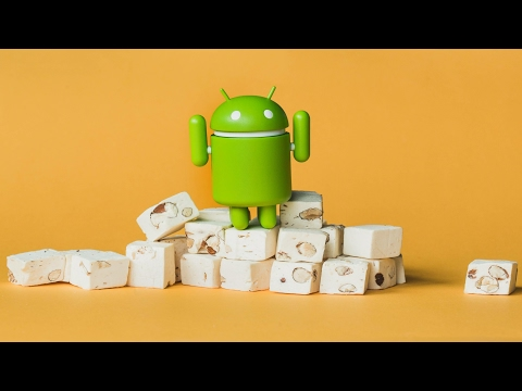 Marshmallow Land On Android 7 Nougat:Android 7 Easter Egg