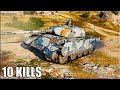 Т 44 100 Р в команде РУКАЖОП world of tanks лучший бой на прем танке mp3