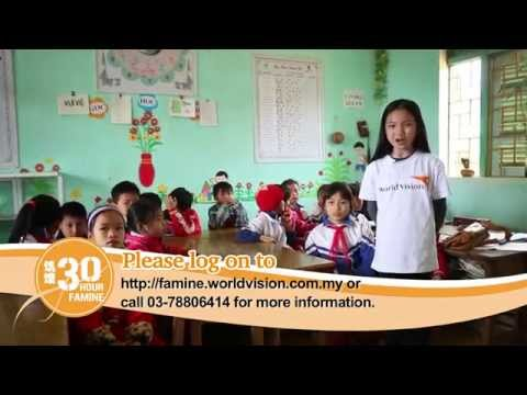 Go Hungry With Crystal Lee 李馨巧 For The Famine