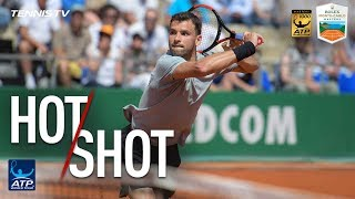 Hot Shot: Dimitrov Makes Stunning Diving Volley In Monte-Carlo 2018