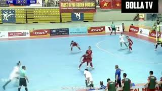 TAHAN IMBANG!!! INDONESIA VS VIETNAM (FT: 0-0) HIGHLIGHTS AFF FUTSAL CHAMPIONSHIP 2019