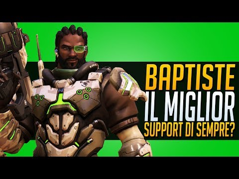 BAPTISTE è il miglior SUPPORT di SEMPRE su Overwatch ? Pro, Contro e Counter + SKINS! thumbnail