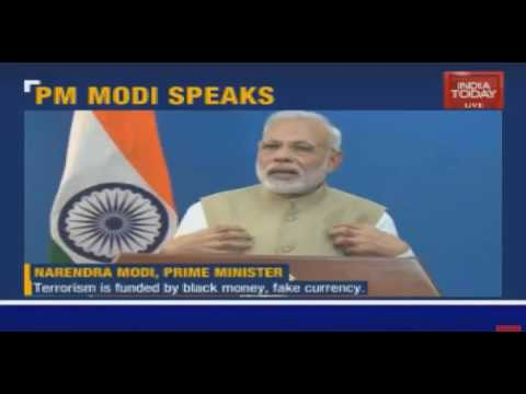 Indian Prime Minister Addresses The Nation on Corruptions Primarily