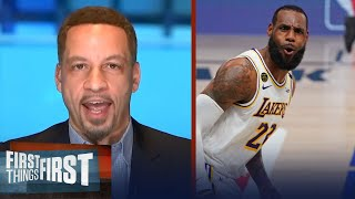 Chris Broussard talks LeBron's respect comments after Lakers win NBA title | FIRST THINGS FIRST