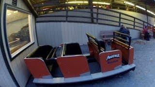 Phoenix Pov Hd Tour Knoebels Amusement Resort Off-ride Roller Coaster Wooden Gopro Scale Model