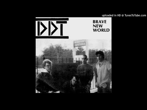 "DDT (Atlanta, GA) - Brave New World - 7"" - Five Minute Productions - 1983"