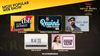 Nominations | Most Popular Web Show | Kashmir HUM Social Media Awards 2020