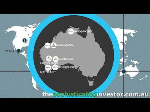 Lithium Australia - Project Locations