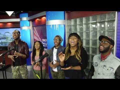 Gospel recording group LIVRE sings live on Good Day Columbia