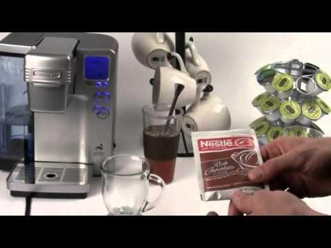 Cuisinart Single Cup Coffee Maker Vs Keurig : Cuisinart Keurig Coffee Maker Review - Part 2 Alternative Uses - YouTube
