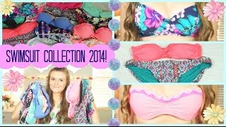 Summer Swimsuit Collection/Haul 2014! ☀️