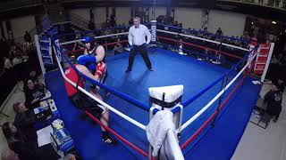 Ultra White Collar Boxing | Burton | Hollie The Hit Woman VS Charley Lee