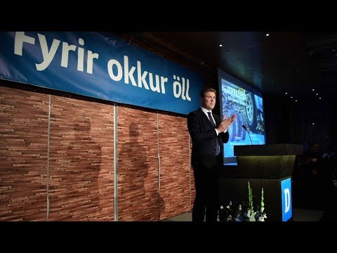 Independence Party wins snap election in Iceland