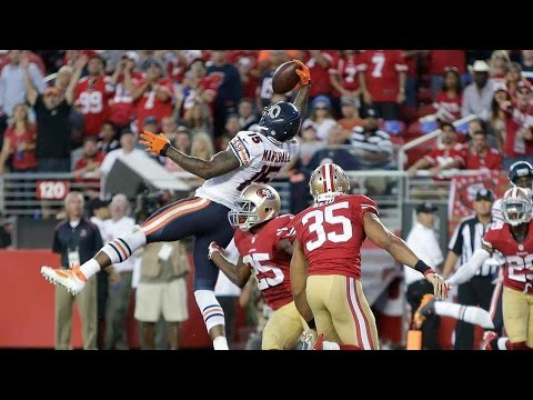 Top 10 NFL Catches by Chicago Bears Players