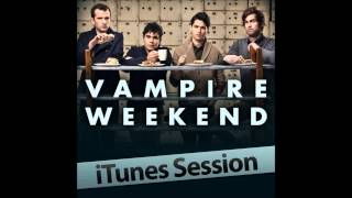 Vampire Weekend - iTunes Session EP