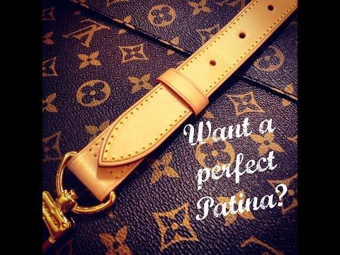 **The Louis Vuitton SECRET** | Baby Wiping Vachetta