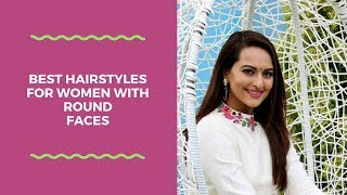 Best hairstyles for women with round faces|Simple,easy hairstyles for round faces|KRI GA