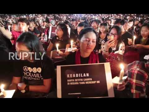 Indonesia: Thousands join vigil for Ahok in Jakarta after governor jailed for blasphemy