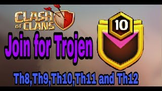 Join for trojen ||Clash of clans|| in hindi