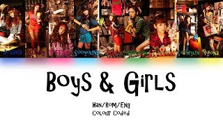 Girls' Generation - Boys & Girls