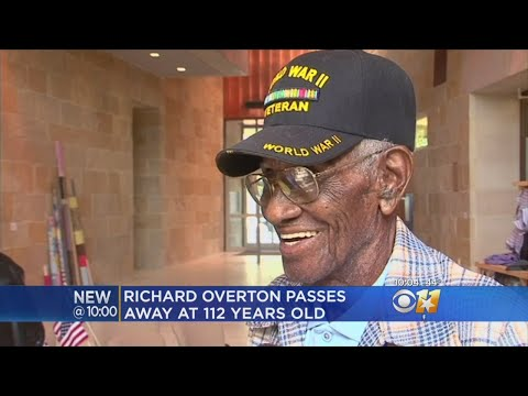 Oldest Living Man, Texan, WWII Veteran Richard Overton Dies At 112
