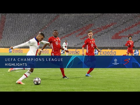 UEFA Champions League Quarter-Final 1st Leg Bayern Munich v Paris Saint-Germain Highlights