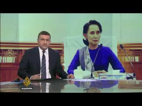 Aung San Suu Kyi criticised failing to protect Rohingya | AL-JAZEERA English