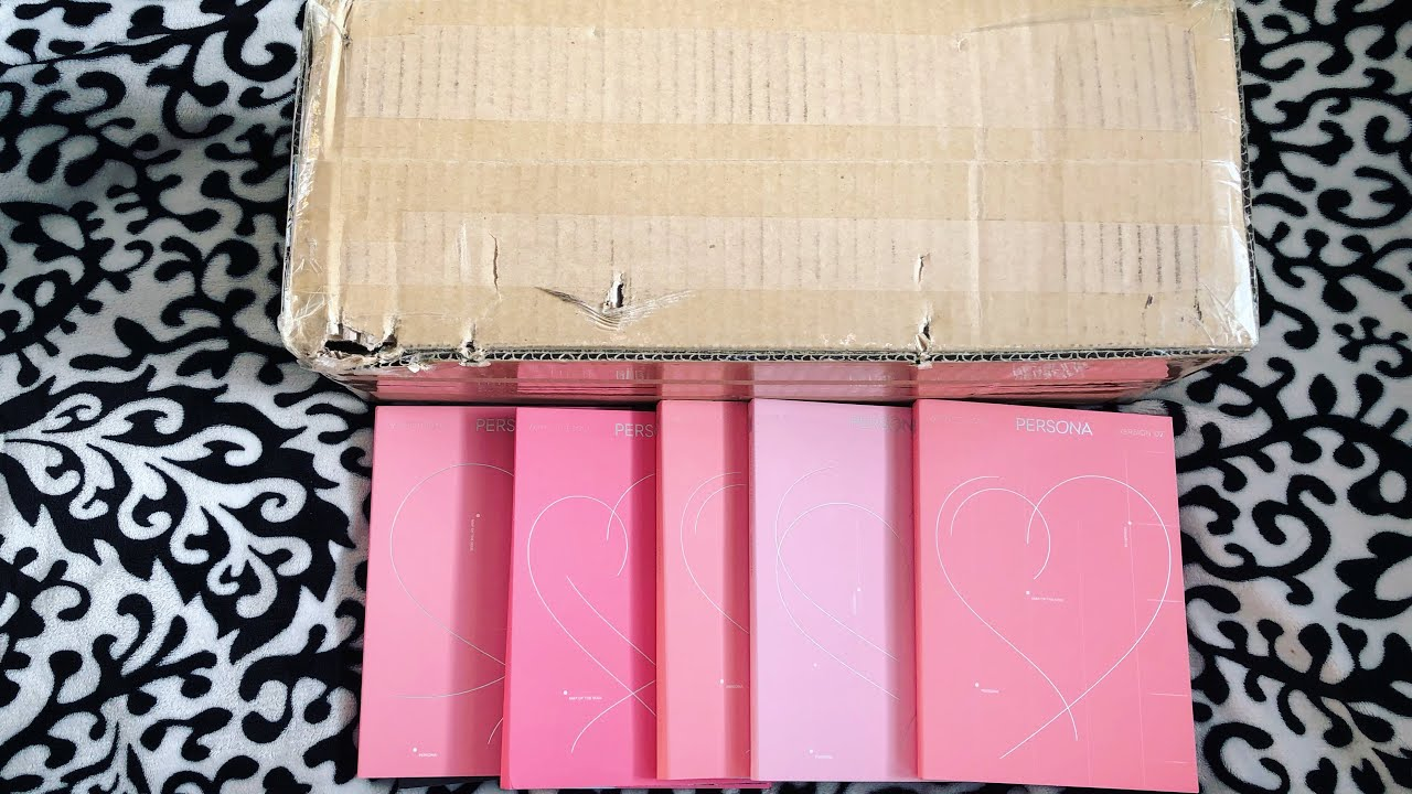 [UNBOXING] BTS MAP OF THE SOUL: PERSONA | BTS Bomber Jacket | GIVEAWAY