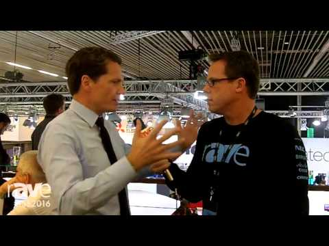 ISE 2016: Gary Kayye Interviews Talks with Robin Van Meeuwen, CEO EMEA of Crestron