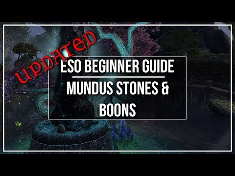 ESO Mundus Stones Guide - Effects, Locations and How to Choose